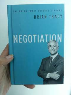 Negotiation by Brian Tracy (self-help book)