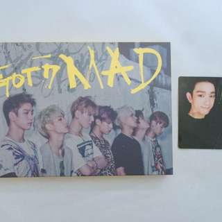 GOT7 Mini Album - Mad (Horizontal Version)