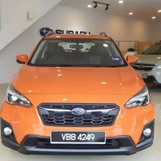 New Subaru XV HQ4