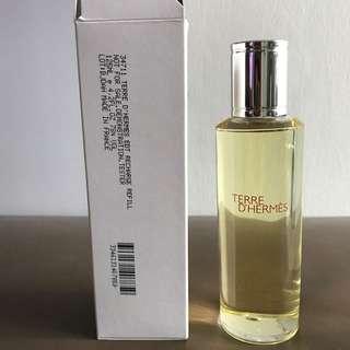 Terre D' Hermes Perfume Refill 125ml Tester