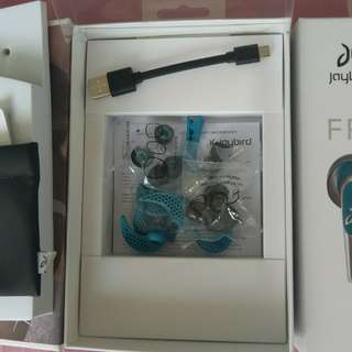 Brand new Jaybird Freedom headphone plus another set of accessories