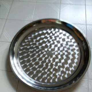 50cm stainless steel tray