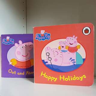 Peppa Pig books x 2