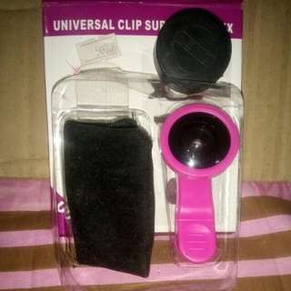 Universal Clip Super Wide 0.4X for IPHONE/SAMSUNG/HTC/IPAD/TABLET PC/LAPTOPS.
