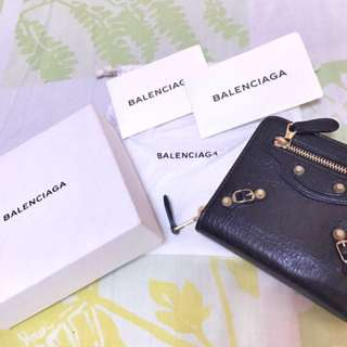 Guaranteed Authentic Balenciaga Compact Wallet