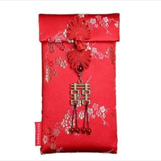 Satin Red Packet Angbao