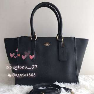 COACH F14928 Crosby Carryall in Crossgrain Leather