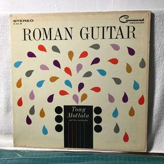Tony Mottol & His Orchestra  Title: Roman Guitar - The Greatest Advance In Sound