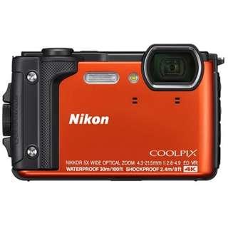 Nikon W300 橘色 公司貨 登錄送防水包