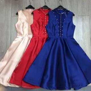Loretta pearl dress