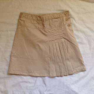 Gap Kids Khaki Pleated Skirt