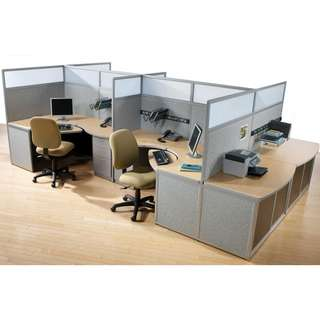 OFFICE CUBICLES PARTITIONS--KHOMI