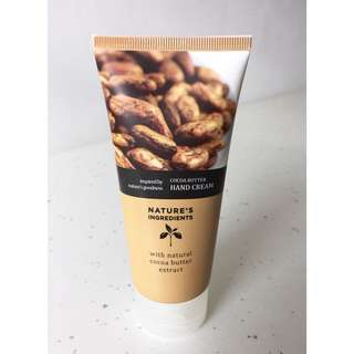Marks & Spencer (M&S) Beauty Nature's Ingredients Cocoa Butter Hand Cream