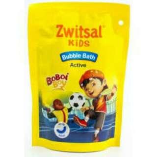 Refill zwitsal kids bubble bath active boy 250 ml