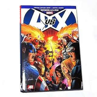 AVX AVENGERS VS X-MEN HC MARVEL COMICS