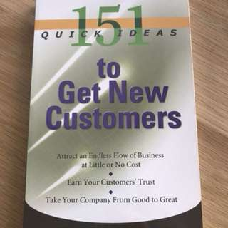 Ideas to get new customers