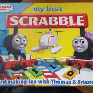 Thomas and Friends Scrabble