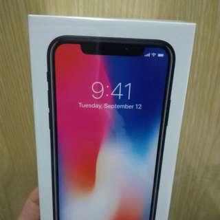 全新 iPhone X 256GB 太空灰 原封未拆 未激活
