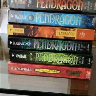 Pendragon - Books 1 To 6