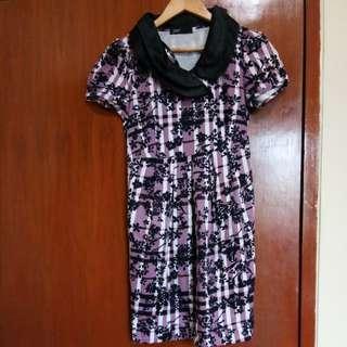 Dress import ungu