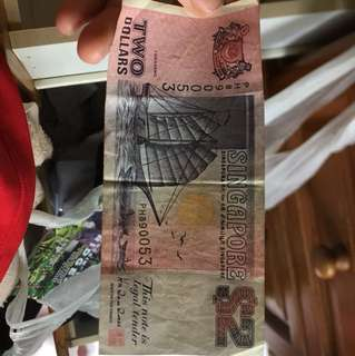Old $2 SG Notes