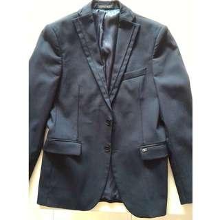 Zara Man Blazer / Jacket (Navy Blue)