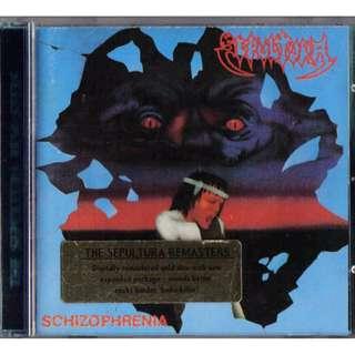 Sepultura Schizophrenia gold cd