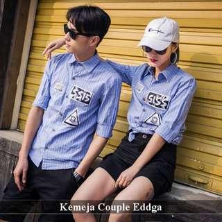 Kemeja Couple Bagus | Fashion Couple Murah | Eddga
