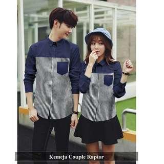 Kemeja Couple Trendy | fashion Couple Terlengkap | Raptor