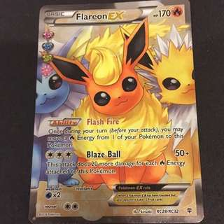 Pokemon Generations Flareon EX Fullart (Mint)