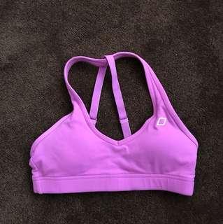 Lorna Jane purple sports bra