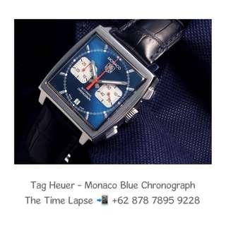 Tag Heuer - Monaco Blue Chronograph