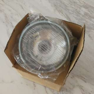 Vespa super head light lense with bulb