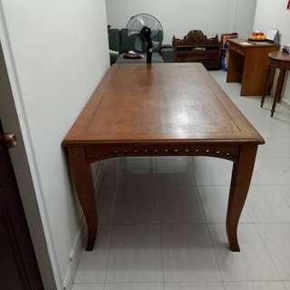 Teak Dining Table , 8 Seater