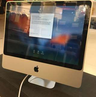 (USED) Apple iMac 20Inch 2009