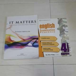 O level English assesment books
