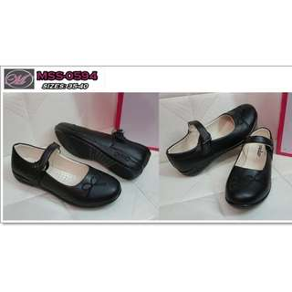 CODE: MSS-0594 Ladies Black Doll Shoes