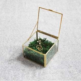 Jewelry Box Brass