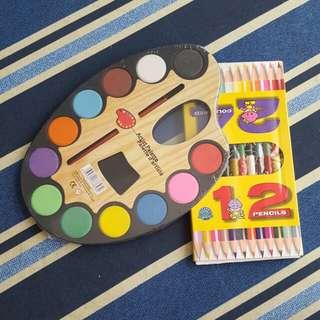 Art materials bundle