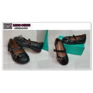 CODE: MSS-0595 Kids Black Doll Shoes