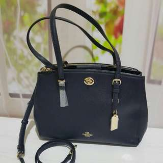 Coach Turn-lock Satchel size 29x23