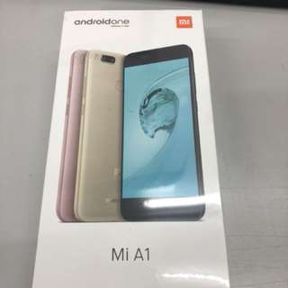 Xiaomi A1 64Gb (黑,粉,金 三色)全新行貨,一年保養 !