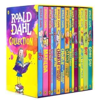 💥 NEW - Roald Dahl Collection 15 books set - Children story books