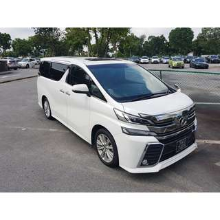 TOYOTA VELLFIRE 3.5ZA AT ABS D/AIRBAG 2WD 5DR