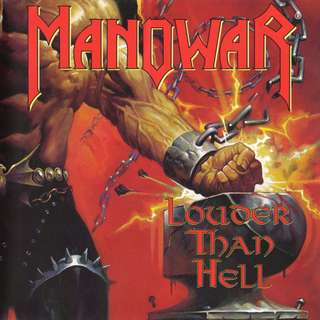 Manowar ‎Louder Than Hell cd