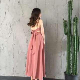 Old Rose Maxi Dress