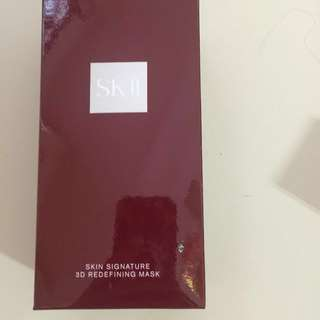 BNIB SK2 Skin signature 3D Refining mask 6pcs in Box. all product is factory sealed