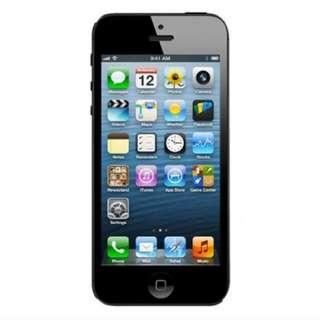 Apple iPhone 5 - 16GB - Hitam