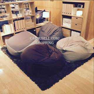 (INSTOCKS) 100% Authentic Muji Bean Bag Set! #huat50sale
