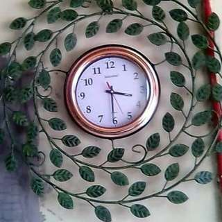 Clock and money tree for sale.